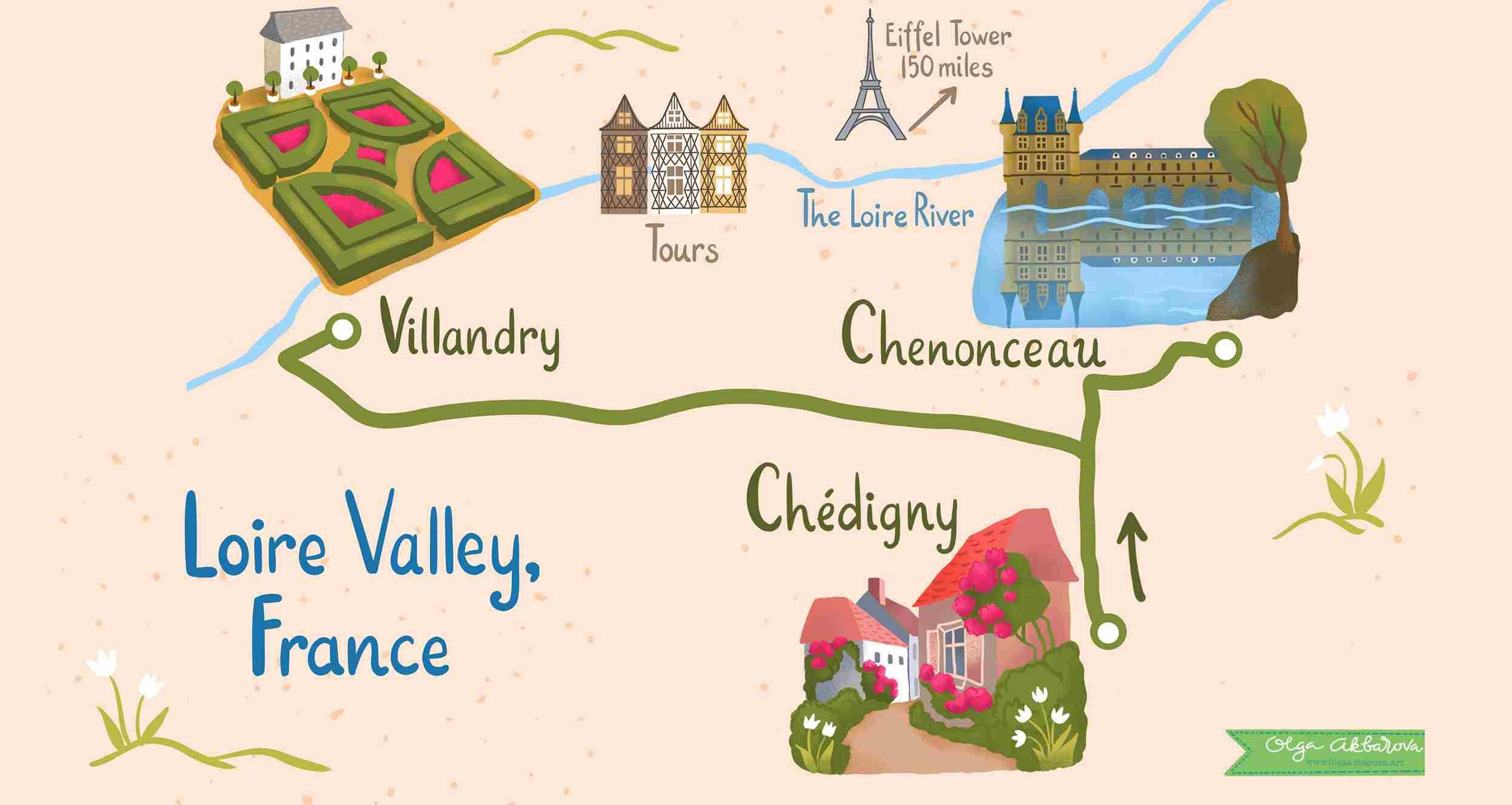 Gardens of the Loire Valley, France - Self-Guided Day Trip ...