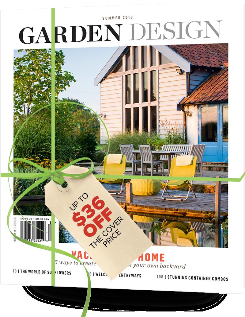 Why Give Garden Design Magazine?