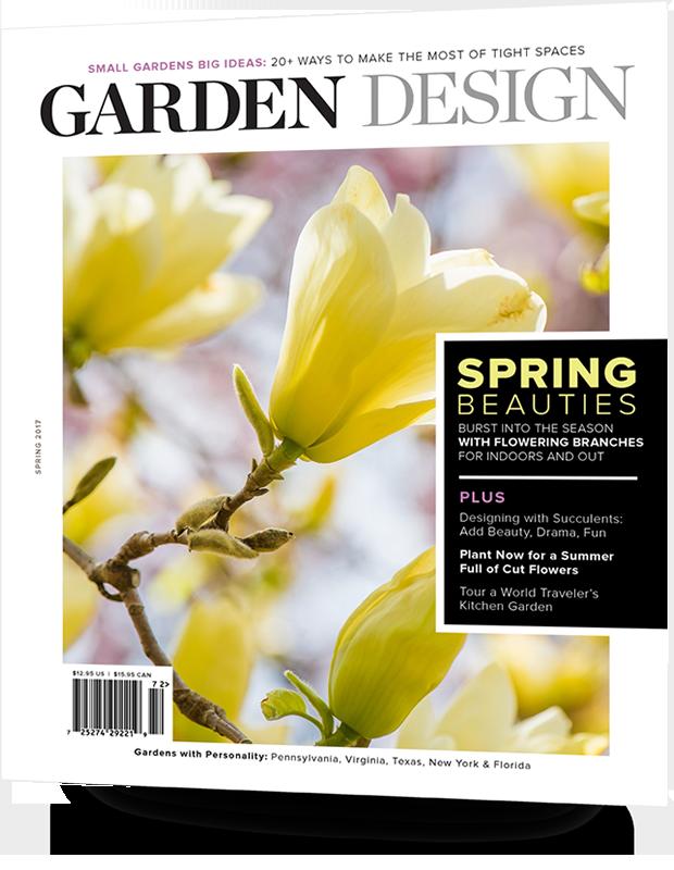 Whats in the magazine Garden Design