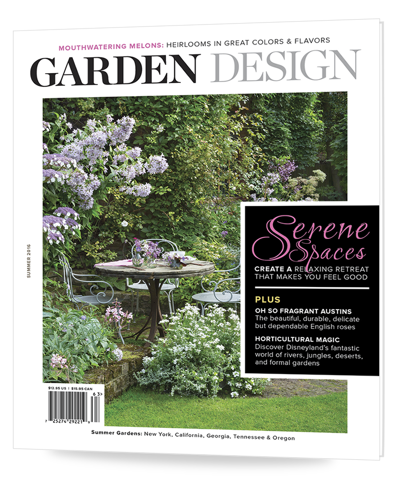 Subscribeorder the magazine Garden Design
