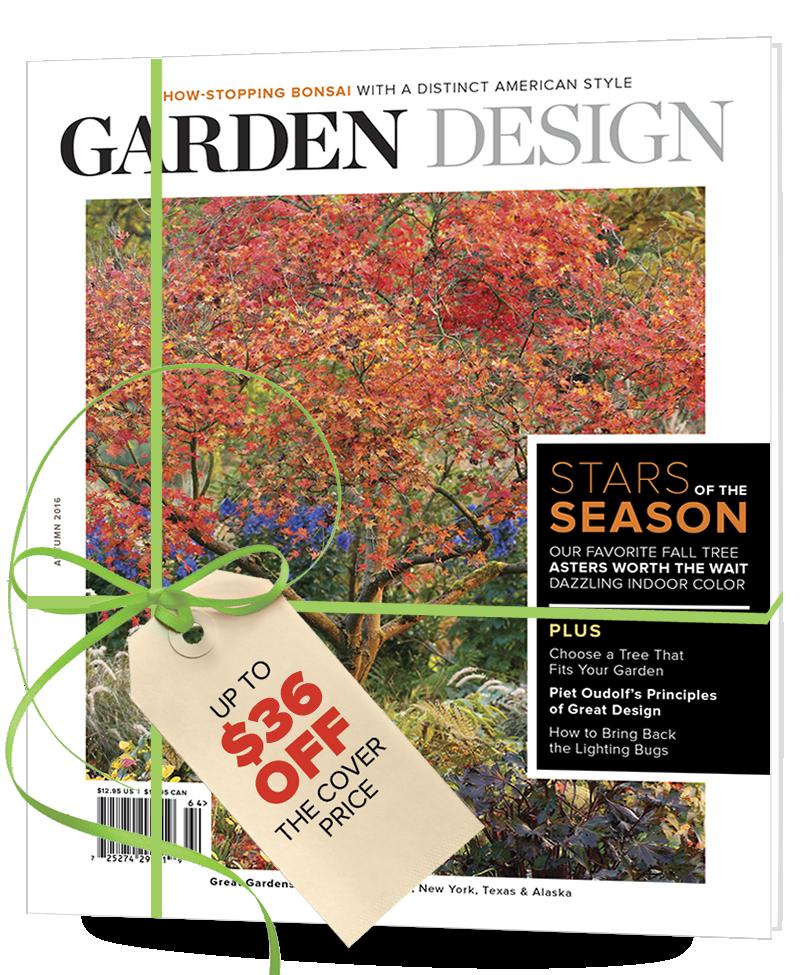 Gift an amazing garden magazine Garden Design
