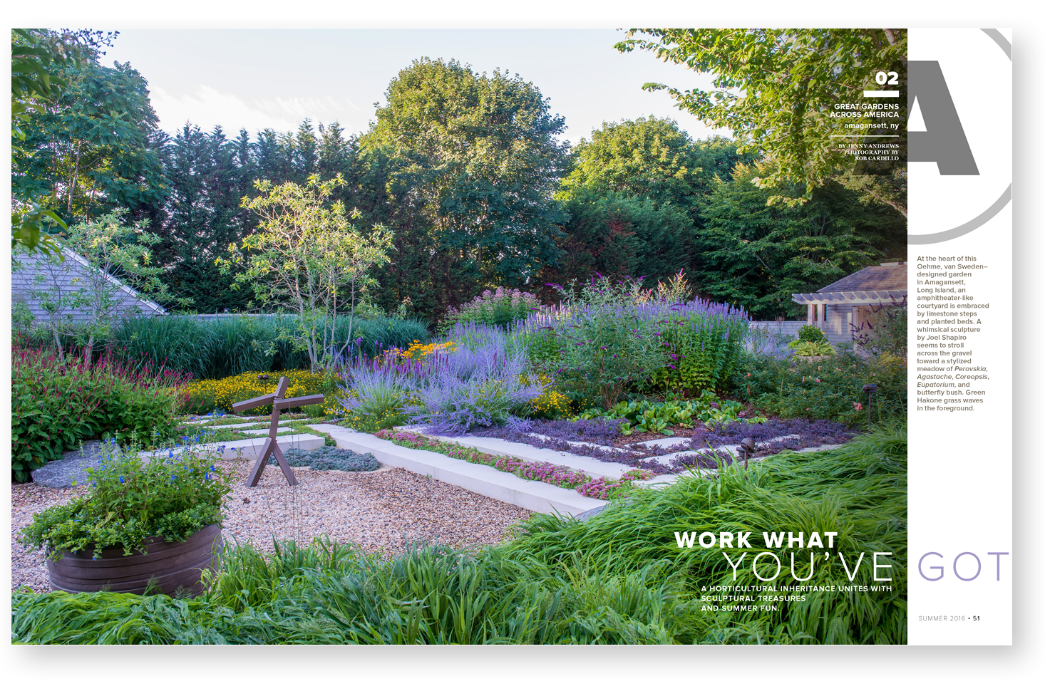 What's in the magazine? | Garden Design