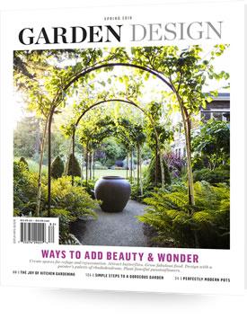 Subscribe order the magazine garden design for Garden design ideas usa