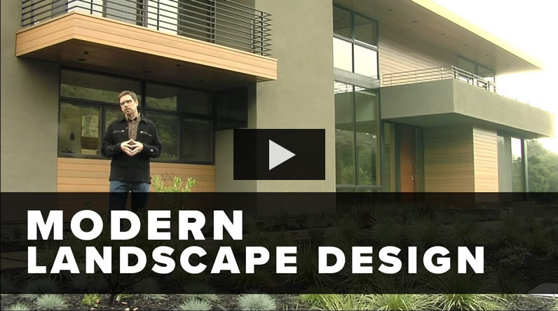 Watch This Short Video To See How To Design A Modern Landscape.