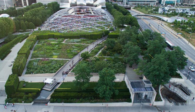 Garden Design Magazine S Guide To Millennium Park