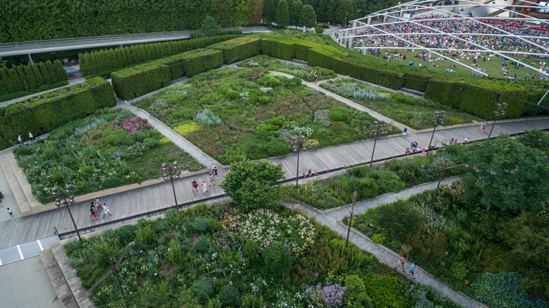 Garden Design Birds Eye View garden design magazine's guide to millennium park