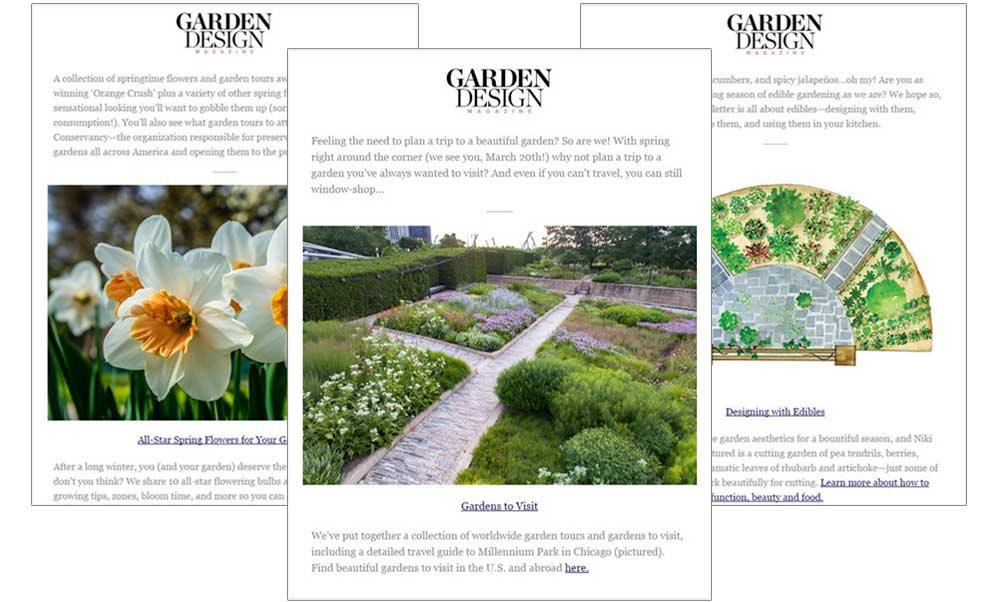 Attractive Newsletter Samples Garden Design Calimesa, CA