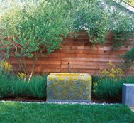 Fiberglass Water Feature, Custom Water Feature Bernard Trianor + Associates Monterey, CA
