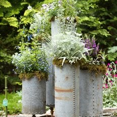 LongHouse Reserve Planters: On & Off the Ground Competition Winners Kate McCarty Organic Landscapes Amagansett, NY