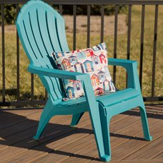 Adirondack Chair, Resin Chair, Stackable Chair Adams Mfg ,