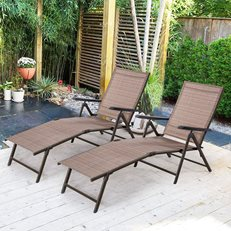 Chaise Lounge Chairs, Outdoor Chairs, Patio Chairs Cloud Mountain ,