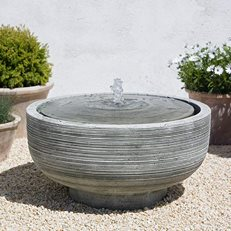 Contemporary Fountain, Round Fountain Campania International