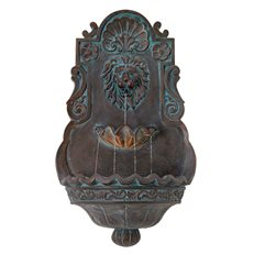 Lion Head Fountain, Wall Fountain John Timberland ,