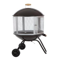 Portable Fire Pit, Fire Pit Wheels Fire Sense ,