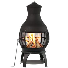 Chimenea Fireplace, Chimenea Fire Pit Bali Outdoors ,