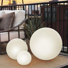 Illuminated Spheres Garden Design Calimesa, CA