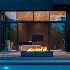Modern Fire for Outdoor Spaces Garden Design Calimesa, CA