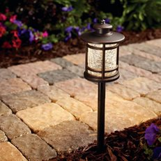 Path Light, 3 Watt. Bronze Fixture Hampton Bay ,