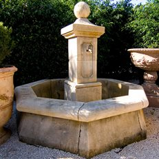 Antique Fountain, French Fountain Authentic Provence West Palm Beach, FL