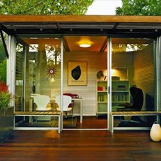 Kithaus Prefab Office Garden Design Calimesa, CA