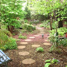 My Garden: A Cool, Quiet Corner of the World Garden Design Calimesa, CA
