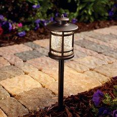 Path Light, 3 Watt. Bronze Fixture Hampton Bay ,