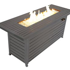 Rectangular Fire Pit, Gas Fire Table Legacy Heating ,
