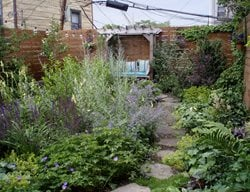 Small Garden Pictures Alexandra Abuza Brooklyn, NY