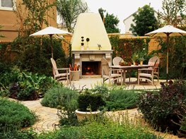 10 Great Outdoor Fireplaces Garden Design Calimesa, CA