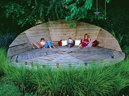 "Eat, Play, Lounge ""Dream Team's"" Portland Garden Garden Design Calimesa, CA"