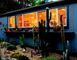 "Stylish Shed ""Dream Team's"" Portland Garden Garden Design Calimesa, CA"