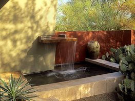 Courtyard Garden, Fountain Steve Martino & Associates Phoenix, AZ