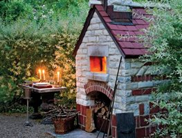 "Pizza Oven 1 ""Dream Team's"" Portland Garden Monterey Masonry Sheffield, MA"