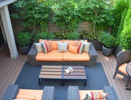 "Rooftop Terrace In Chelsea For Enteraining ""Dream Team's"" Portland Garden Garden Design Calimesa, CA"