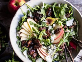 Fig Salad, Honeycrisp Apple Garden Design Calimesa, CA