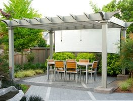 Shade Arbor, Summer Garden Barbara Hilty Landscape Design LLC Portland, OR