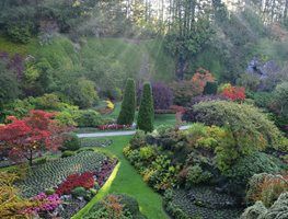Take The Ferry To Victoria And Visit Butchart Gardens Garden Design Calimesa, CA