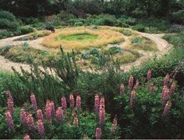 The Round Garden Garden Design Calimesa CA & British Naturalistic Planting | Garden Design