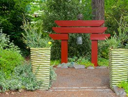 Chinese Bell Arbor Seasons Garden Design LLC Vancouver, WA