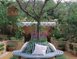 Tree Bench, Circular Bench Bunny Guinness Landscape Design Limited Peterborough, Cambridgeshire