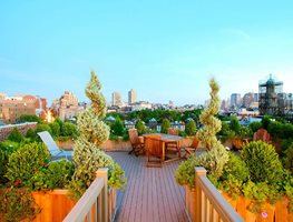 Rooftop Garden Planters, Weight Restrictions Amber Freda Home & Garden Design New York, NY