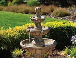 Classic Fountain, Tiered Garden Fountain Bond Manufacturing ,