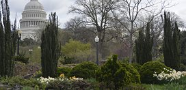 Bartholdi Park With The Capitol Building In The Background Garden Design Calimesa, CA