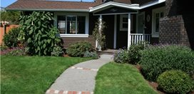 Front Yard Curb Appeal Garden Design Calimesa, CA