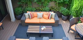 Rooftop Terrace In Chelsea For Enteraining Garden Design Calimesa, CA