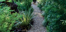 Gravel Path A Silver Lake Garden: Photo Gallery Commune Design Los Angeles, CA