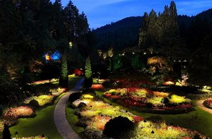 Butchart Gardens, Lights And Shadows  Garden Design Calimesa, CA