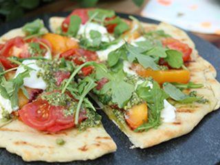 Grilled Flatbread, Garden Food Proven Winners Sycamore, IL