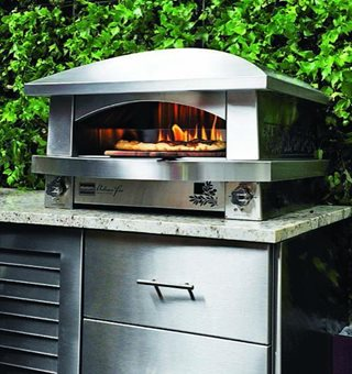 "Kalamazoo Pizza Oven ""Dream Team's"" Portland Garden Garden Design Calimesa, CA"