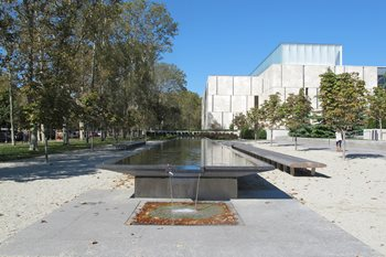Barnes Foundation Water Feature Garden Design Calimesa, CA